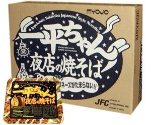 Myojo Ippei-Chan Yomise Yakisoba Instant Noodle Case [12Pcs]