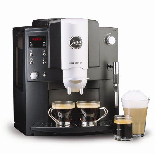 Remanufactured Jura-Capresso 13187 Impressa E8 Automatic Coffee And Espresso Center, Black front-534211