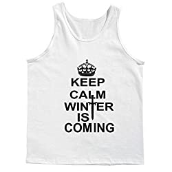 Keep Calm winter is coming! Tank Top