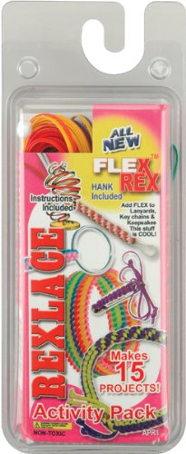 Pepperell Rexlace Activity Pack for Jewelry Making - 1