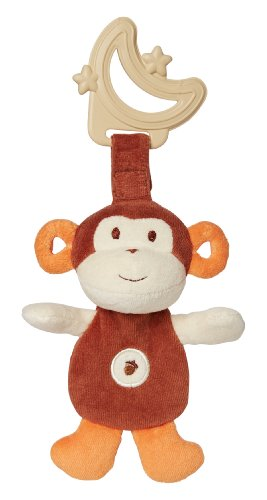 My Natural Sensory Eco Teether, Brown Monkey front-134083