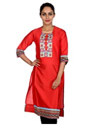Rajrang Women Ethnic Wear Kurta Tunics Long Kurti Top Size M - B00RVJMDB2