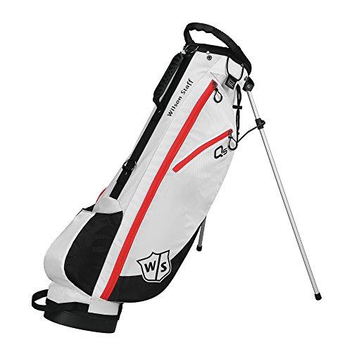 2015 Wilson QS Quick Stativtasche Herren Golf Tragetasche 3-Wege Teiler