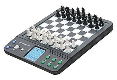 Voice Master, 8 Electronic Board Games, Chess, Checkers, Reversi (Electronic Chess Set compare prices)