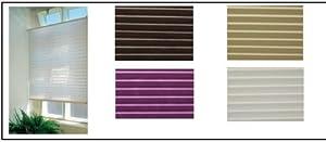faltrollo plissee jalousie sonnenschutz weiss 80cm breit x 160 cm lang k che haushalt. Black Bedroom Furniture Sets. Home Design Ideas