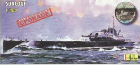 Heller 1:400 - Sous-marin Surcouf - HEL81014
