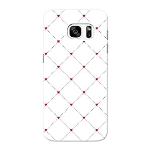 Mobile Back Cover For Samsung Galaxy S7 (Printed Designer Case)