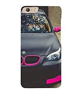Excellent Car 3D Hard Polycarbonate Designer Back Case Cover for Micromax Canvas Knight 2 E471