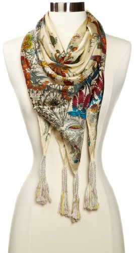 Details for Johnny Was Women's Silver Bay Scarf from Johnny Was