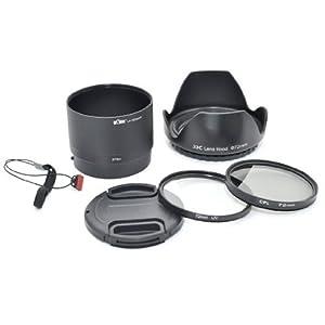 Kiwifotos Kit d'accessoires pour Fujifilm FinePix S3200, S3250, S3280, S3300, S3350, S3380, S3400, S
