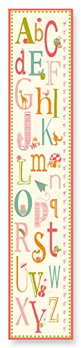 The Kids Room by Stupell Pink A is for Apple Alphabet Growth Chart - 1