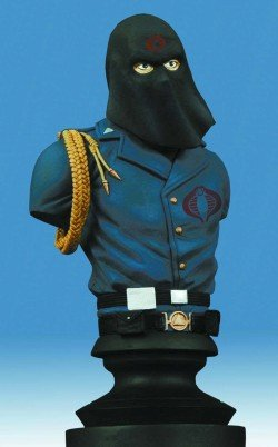 Picture of Diamond Select GI Joe Cobra Commander Bust Figure (B000GXHVBW) (G.I. Joe Action Figures)