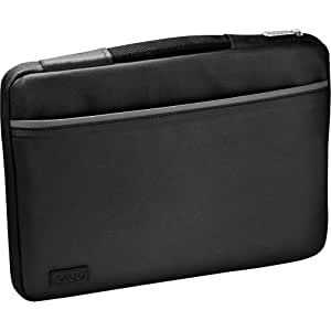 Sony IT VAIO Slipcase - Black with Silver Accents (VGP-AMS1C13/S)