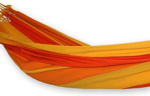 Cotton hammock, 'Brazilian Summer' (double)
