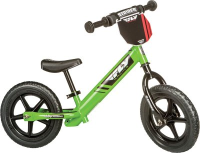 Fly Racing Deluxe Strider Balance Bike, Green
