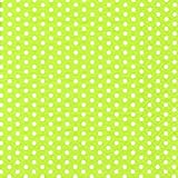 Lime Green with White Polka Dot Party Lunch Napkins x 20