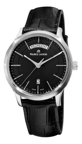 maurice-lacroix-mens-lc1007-ss001330-les-classiques-quartz-black-day-date-dial-watch