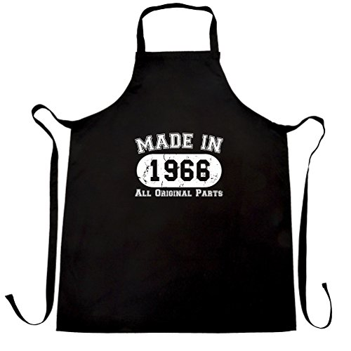 Made In 1966 All Original Parts 50th Birthday fiftieth Apron
