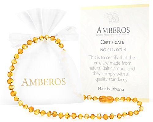 Amber-Teething-Necklace-for-Babies-Unisex-Anti-Flammatory-Drooling-Teething-Pain-Reduce-Properties