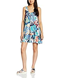 Roxy Women's A-Line Dress (ERJWD03013-WCD6_White _Small)
