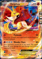 Pokemon - Delphox (19) - XY Black Star Promos - Holo
