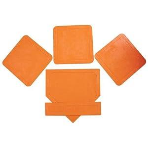 BSN Orange Throw Down Bases (5 Piece)
