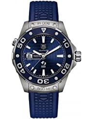 NEW TAG HEUER AQUARACER LEONARDO DiCAPRIO LIMITED EDITION 500M MENS WATCH WAJ2116.FT6022