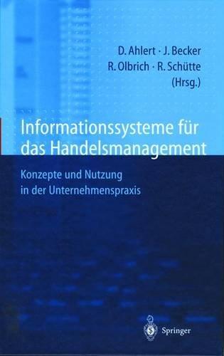 Informationssysteme für das Handelsmanagement: Konzepte und Nutzung in der Unternehmenspraxis (German Edition)