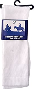 3D Western Boot Socks Mens Womens Over Calf Polyester SO2