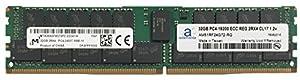 Micron Original 32GB (1x32GB) Memory Upgrade for Cisco UCS M2814 Compute Cartridge Server DDR4 2400MHZ PC4-19200 ECC Registered Chip 2Rx4 CL17 1.2V Adamanta RAM