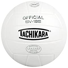 Buy Tachikara SV18S Indoor Leather Composite Volleyball by Tachikara