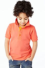 Short Sleeve Fluro Polo Shirt