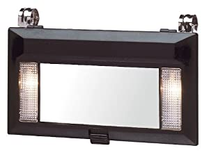 Clip On Vanity Mirror Lights : Amazon.com: Deluxe Lighted Vanity Mirror Clip to Sun Visor: Automotive