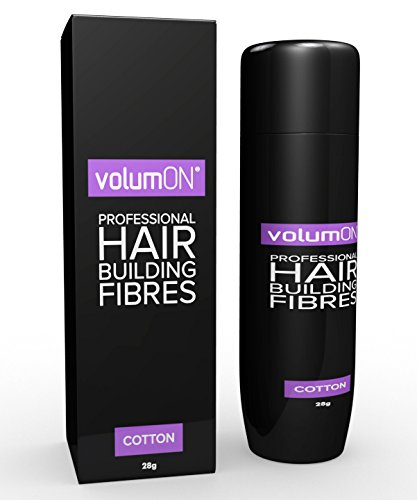 Volumon-Professional-Hair-Building-Fibres-Hair-Loss-Concealer-COTTON-28g-Get-Upto-30-Uses-CHOOSE-FROM-8-HAIR-SHADES-COLOURS