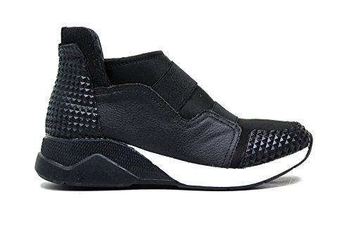 Lee Roy sneakers in pelle donna colore nero L383 BLACK nuova collezione autunno inverno 2016 2017