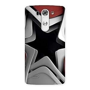 Premium Techisa Multicolor Back Case Cover for LG G3 Mini