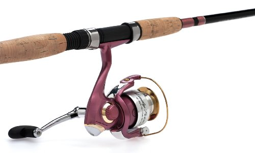 Pflueger Lady Trion Spinning Combo, 6-Feet 10-Inch