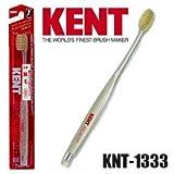 KENTケント 豚毛歯ブラシ 毛の硬さ:かため KNT-1333 6本セット