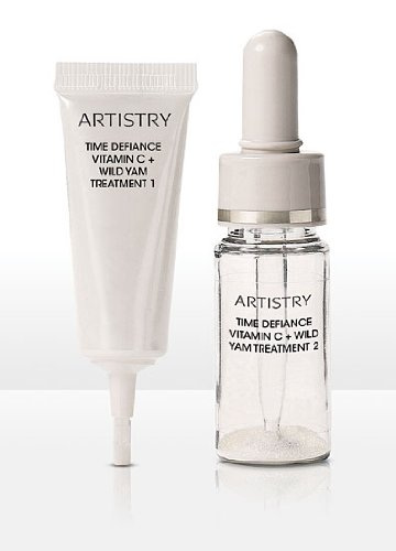 ARTISTRY TIME DEFIANCE Vitamin C + Wild Yam Treatment .34oz