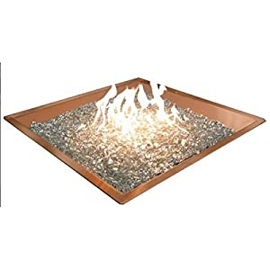 Amazon.com: 24x24 Square Burner Bowl - Copper Gas DIY Fire ...