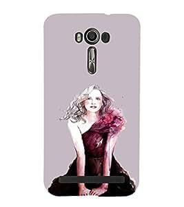 EPICCASE Supermodel Mobile Back Case Cover For Asus Zenfone Go (Designer Case)