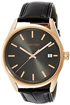 Calvin Klein K4M216C3 Mens Formality Grey Black Watch