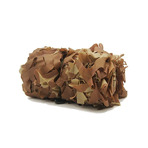 NINAT Desert Camo Netting 6.5x10ft Military Camouflage Net For Camping Hunting Shooting Sunscreen Nets