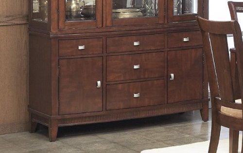 Cheap Buffet with Sturdy Design in Rich Walnut Finish (VF_AP-341-72)