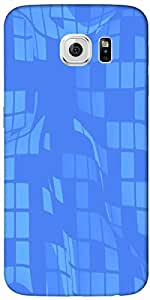 Timpax protective Armor Hard Bumper Back Case Cover. Multicolor printed on 3 Dimensional case with latest & finest graphic design art. Compatible with Samsung Galaxy S-6-EDGE Design No : TDZ-23694
