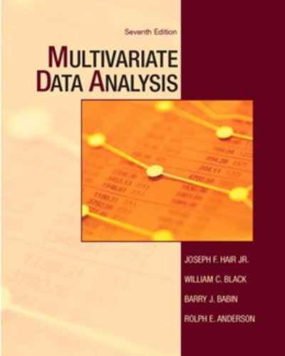 Multivariate Data Analysis (7th Edition)
