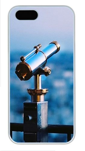 Iphone 5S Cases & Covers -Astronomical Telescope Custom Pc Hard Case Cover For Iphone 5/5S ¨C White