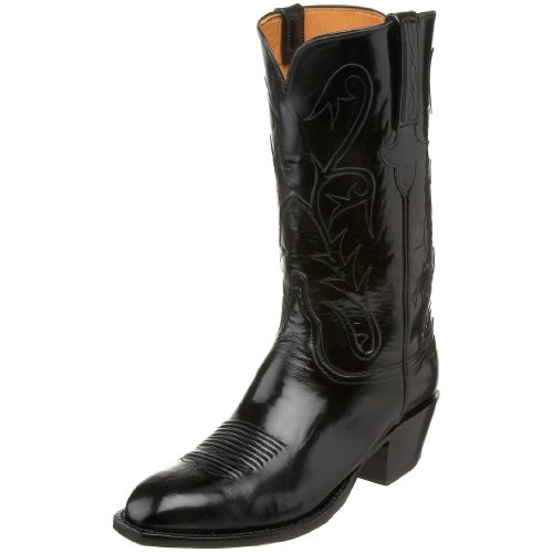 Lucchese Classics Men's L1515.14 Western Boot,Black,13.5 EE US