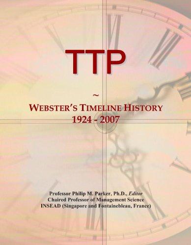 TTP: Webster's Timeline History, 1924 - 2007