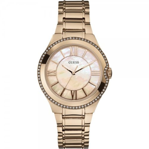 Guess W15077L1 Ladies MOONBEAM Rose Gold Watch